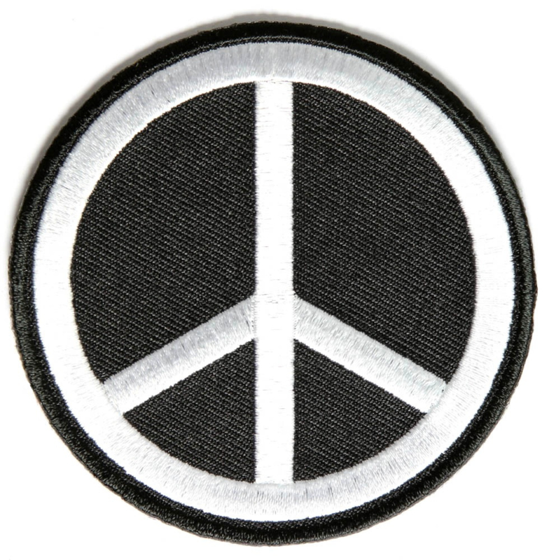 PEACE BLACK PATCH