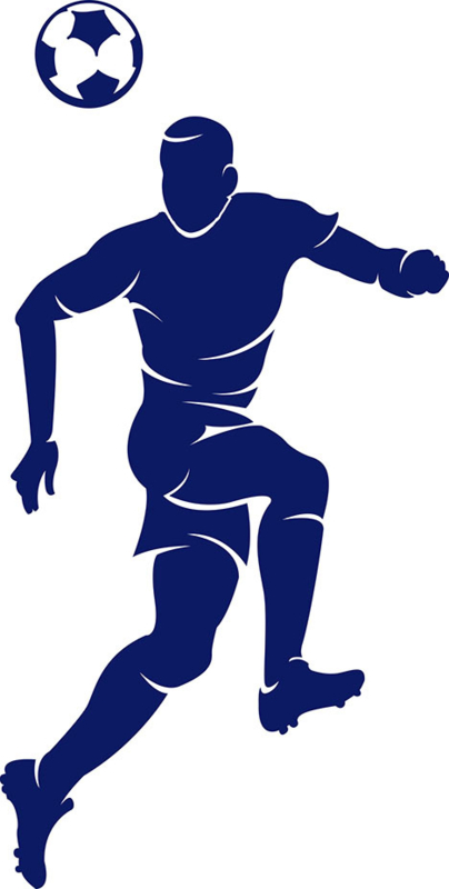 Fussballspieler Bugelbild Grosse S Flock Bugelbilder