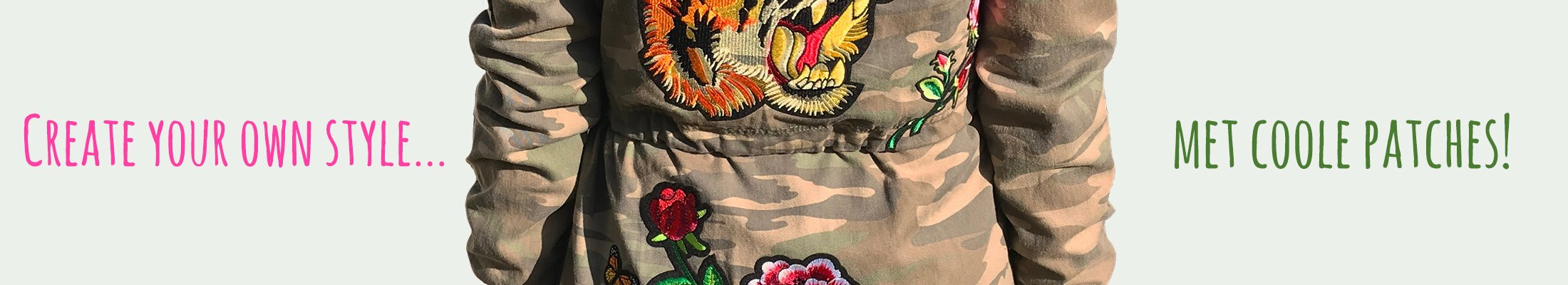 Patches army jas banner