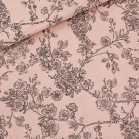 SYAS - Double Gauze - Cherry Blossom - Bleekroze
