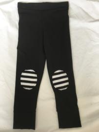 Legging zwart grof