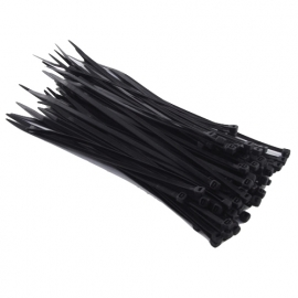Black Cable Ties (100pcs)
