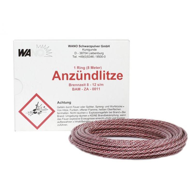 Anzündlitze Quick Fuse Rot (8M)