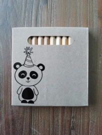 Potloodjes Panda