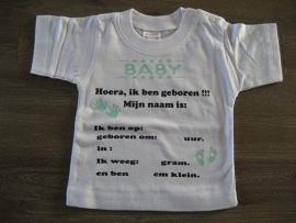 Geboortegegevens Unisex