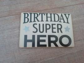 Kaart Superhero