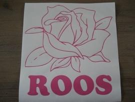 Roos met naam