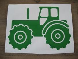 Traktor met naam