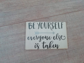 Kaart Be yourself