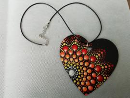 Ketting Groot hart 1