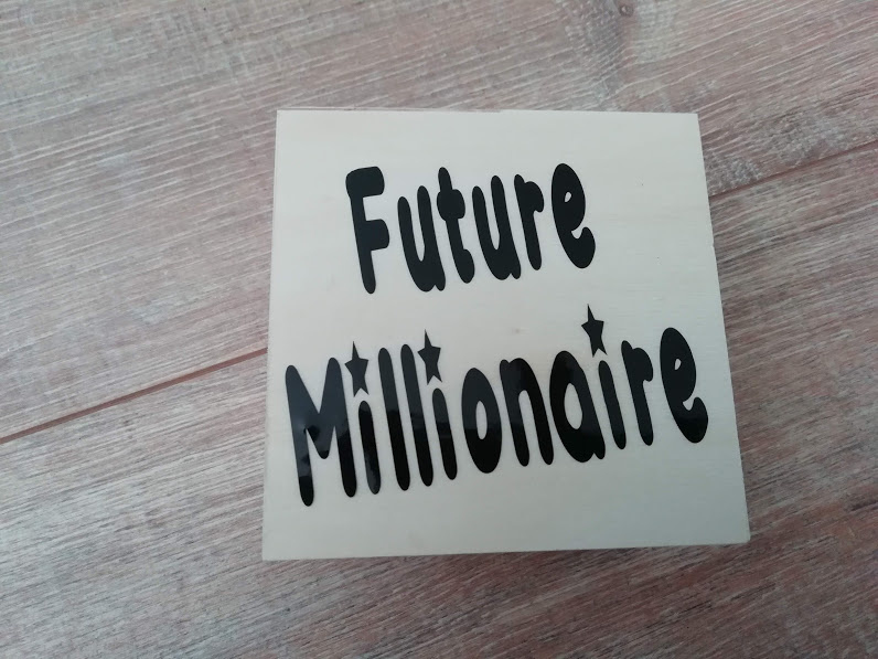 Spaarpot Future millionaire