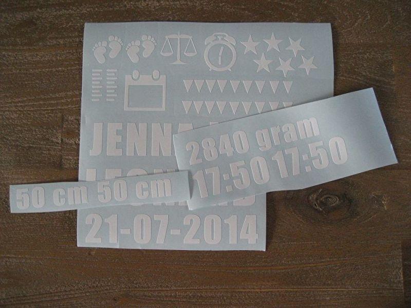 Stickers voor Stapelbekertoren