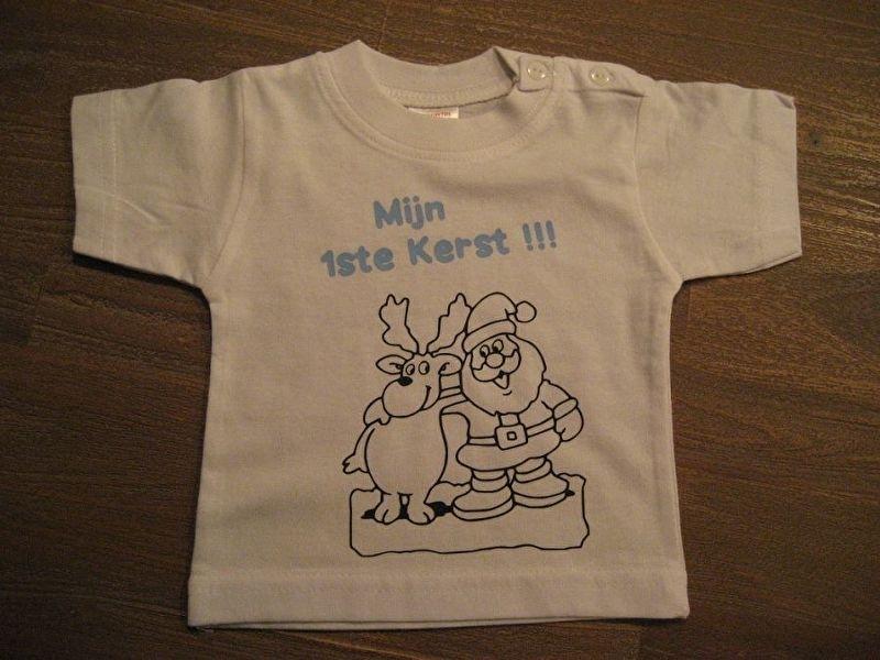 Shirtje 1ste Kerst