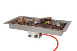 Inbouwbrander Easyfires 78x38cm