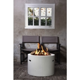 Cocoon Table round white