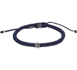 Heren Armband Donkerblauw