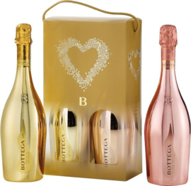 Bottega Glamour Box Gold & Gold Rosé