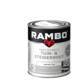 Rambo Pantserbeits Vintage Tuin en Steigerhout 750ML