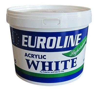 Euroline latex muurverf interieur en exterieur 10L