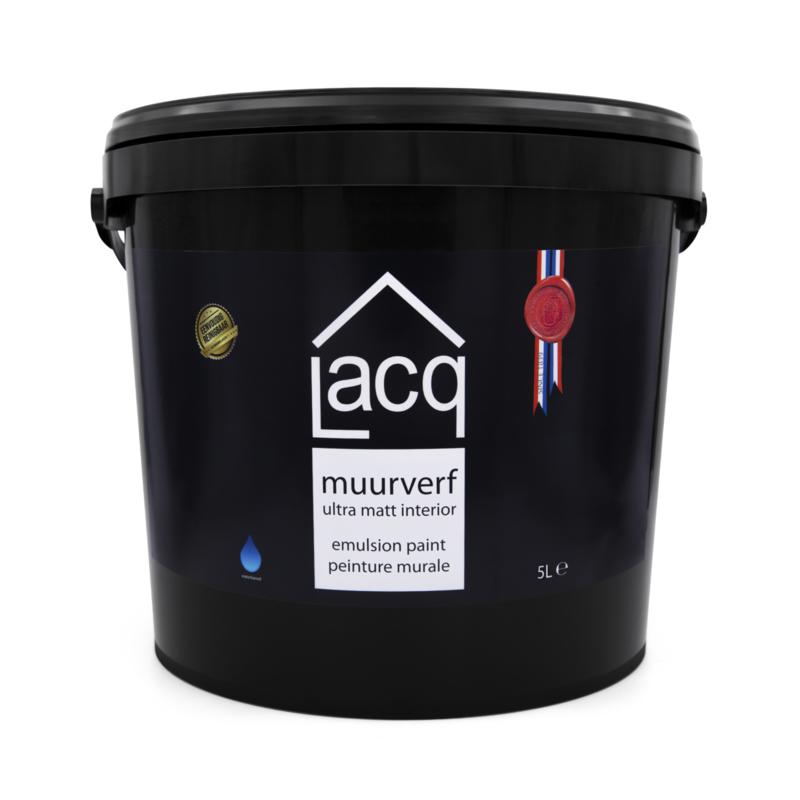 Lacq Muurverf Ultramat   Donkere kleuren