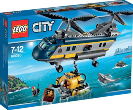 LEGO 60093 Diepzee Helicopter