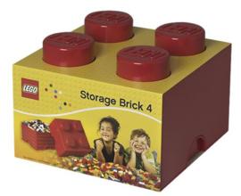 LEGO Storage Brick 4 (verschillende kleuren)