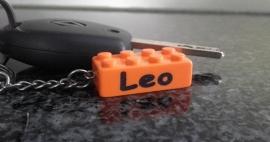 Gegraveerde LEGO sleutelhanger met je naam