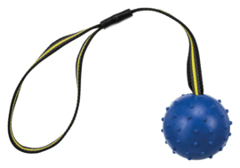 sporting bal 6cm met antislip koord