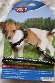 Puppy lijn+halsband
