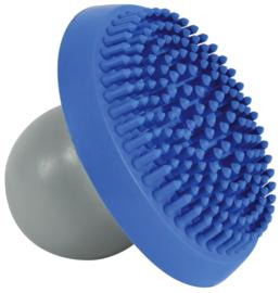 Shampoo en Massageborstel blauw/grijs