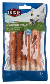 Denta fun chicken chewing rolls