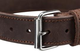 Rustic Vet Leren halsband