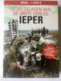 Boek en 2DVD De Veldslagen van de Grote Oorlog IEPER