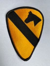 """Badge 1 Cavalry Division """"First Team"""""""