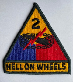 Badge 2 US Armored Division