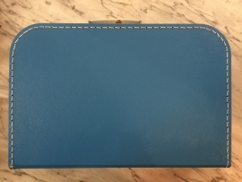 koffer blauw