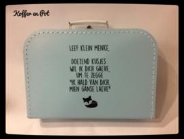 """koffer """"leef klein menke"""""""