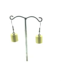 MOOI oorhangers cilinder goud