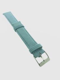 Horlogebandje 18 mm lichtblauw