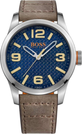 Hugo Boss Orange leer bruin