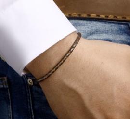 Armband leer 3,5 mm 20 cm