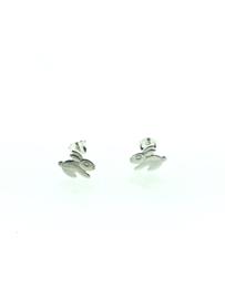 Zilveren oorstekers konijn