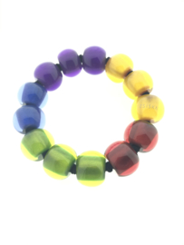 Zsiska armband cirkels rainbow