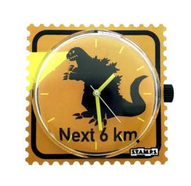 STAMPS-klokje dino next 6 km
