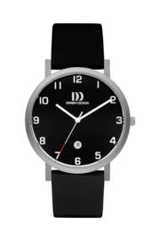 Danish Design horloge zwart 40 mm