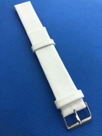 Horlogebandje 18 mm wit
