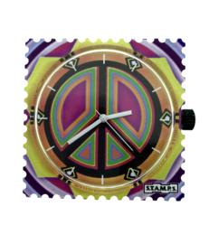 STAMPS-klokje peace on earth