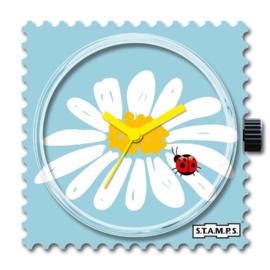STAMPS-klokje daisy