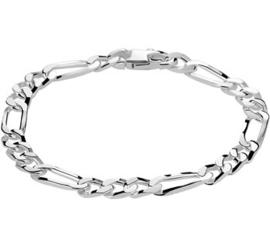 Armband figaro 6,0 mm 19 cm