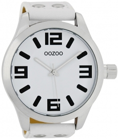 OOZOO horloge wit 51 MM